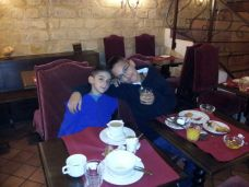 ארוחת הבוקר במלון castex